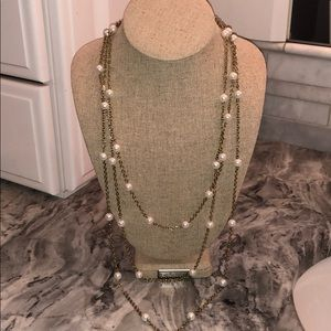 🌵Beautiful pearl layered necklace
